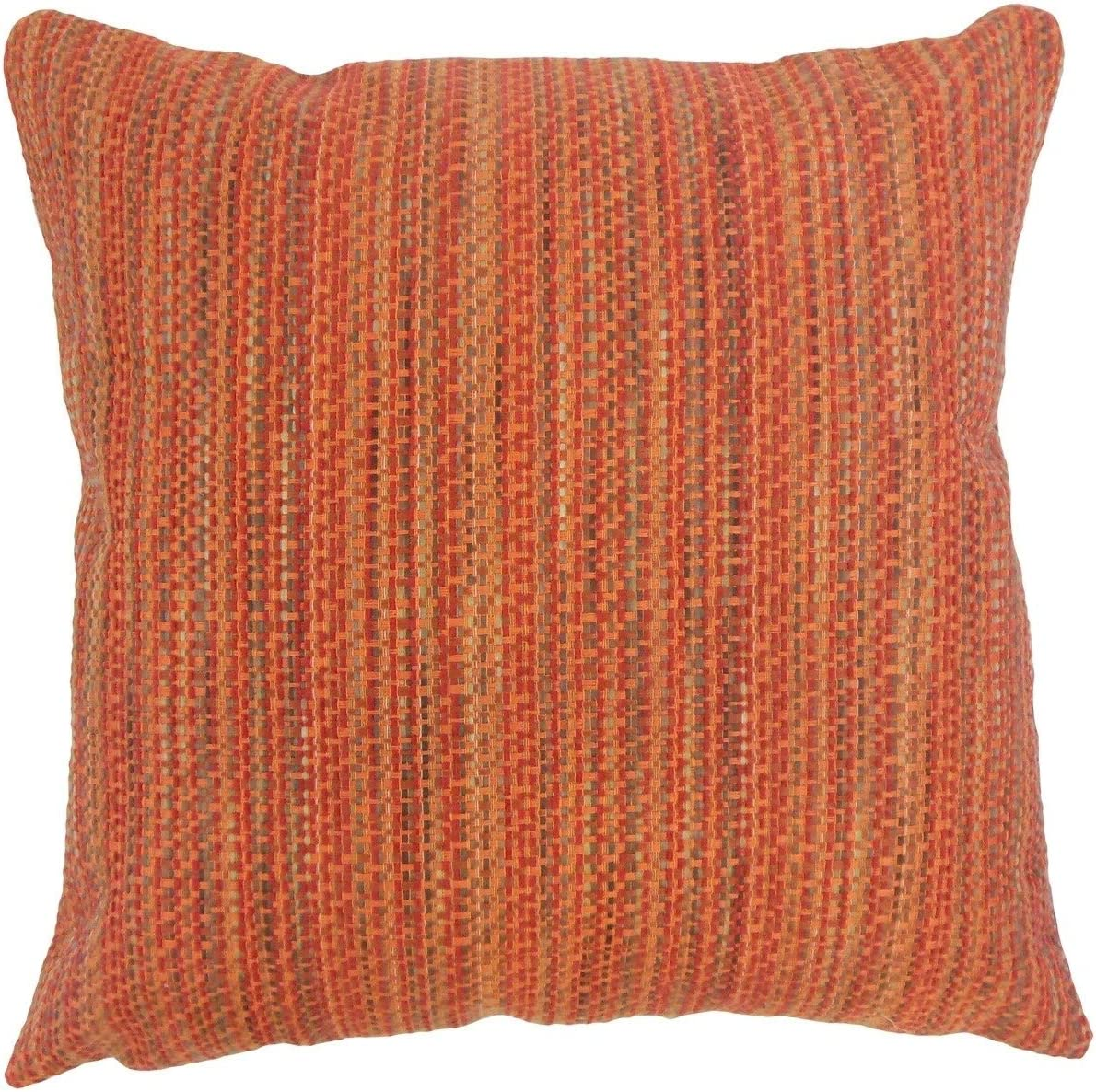 The Pillow Collection Raith Stripes Tamale Down Filled Throw Pillow
