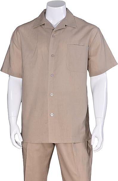 Amazon.com: Fortino Landi M2806 - Traje de paseo de lino en ...