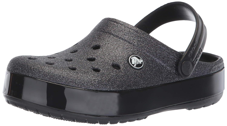 Crocs Women's Crocband Glitter Clog 205419-001