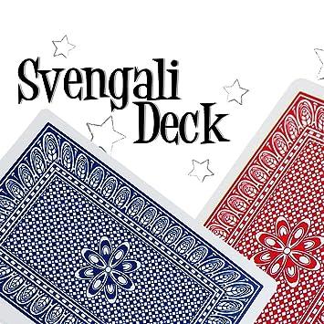 Amazon.com: Tamaño de puente Pro Marca Svengali Deck – Fácil ...