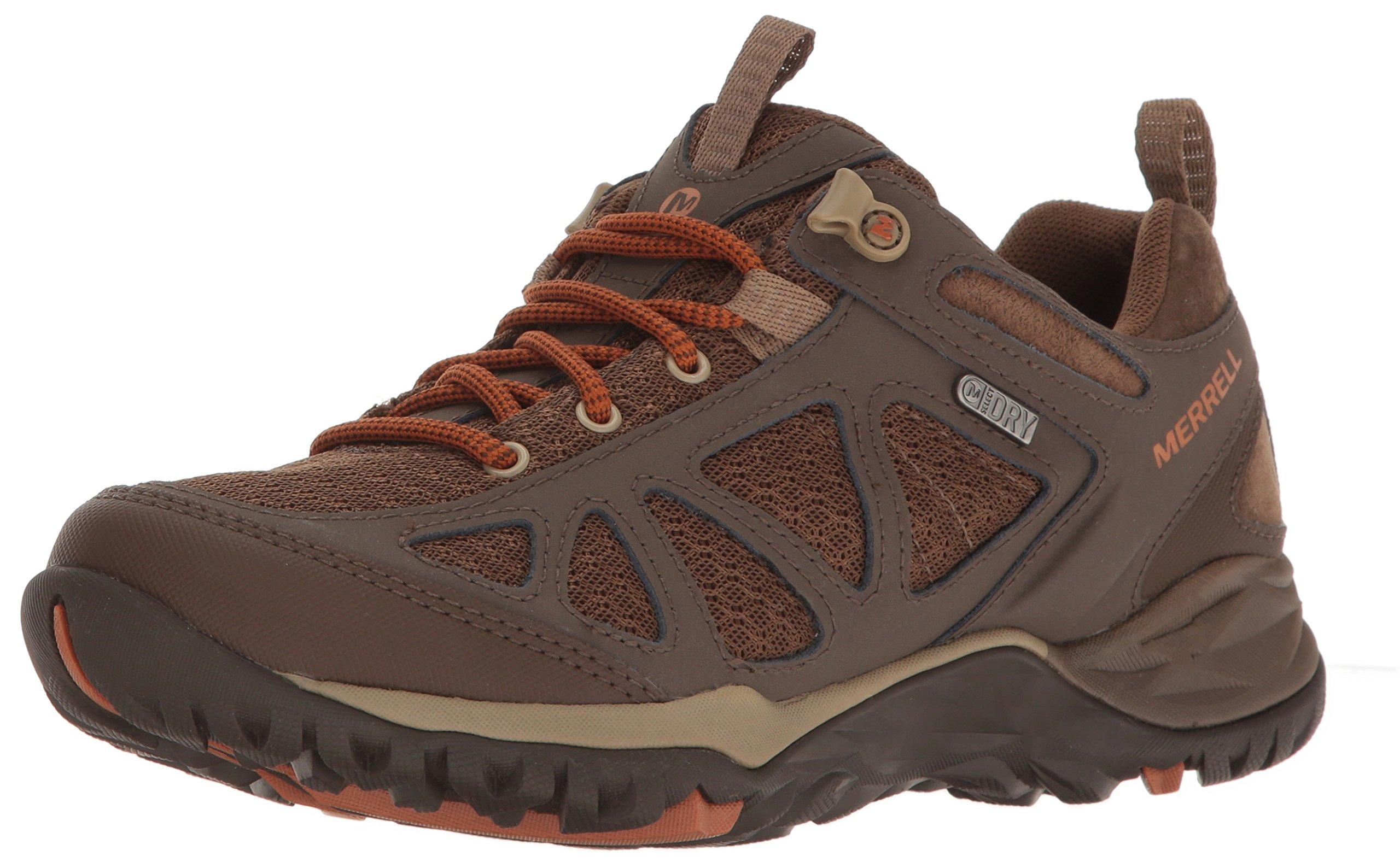 Merrell Women's Siren Sport Q2 Waterproof Hiking Shoe, Slate Black, 8 M US by Merrell