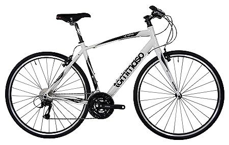side facing tomasso la forma hibrid bike