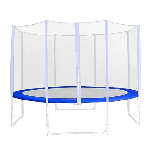 Tour de protection de rechange bleu pour trampoline de jardin - 1,85m - 4,60m PVC - RA-543 - Taille 1,85 m 3L
