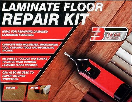 Vivo 19pc Laminate Floorworktop Repair Kit Wax System Sturdy Case