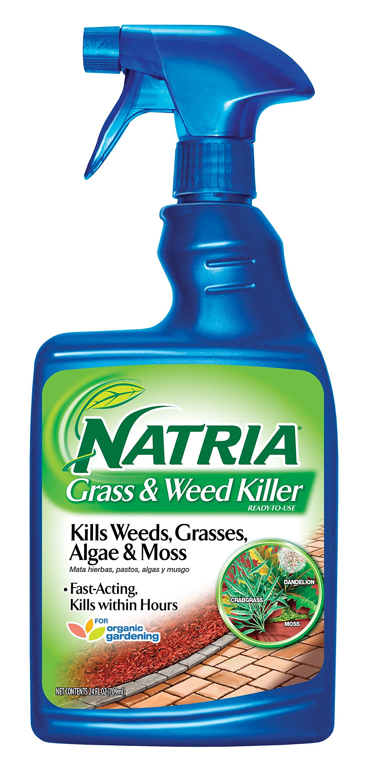 Bayer Advanced NATRIA 706170 Grass and Weed Killer Ready-To-Use, 24-Ounce