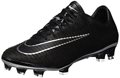 NIKE MEN'S MERCURIAL VAPOR XI TECH CRAFT 2.0 (LEATHER) FG CLEATS (BLACK/