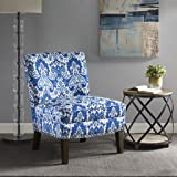 Hayden Slipper Accent Chair Blue See below