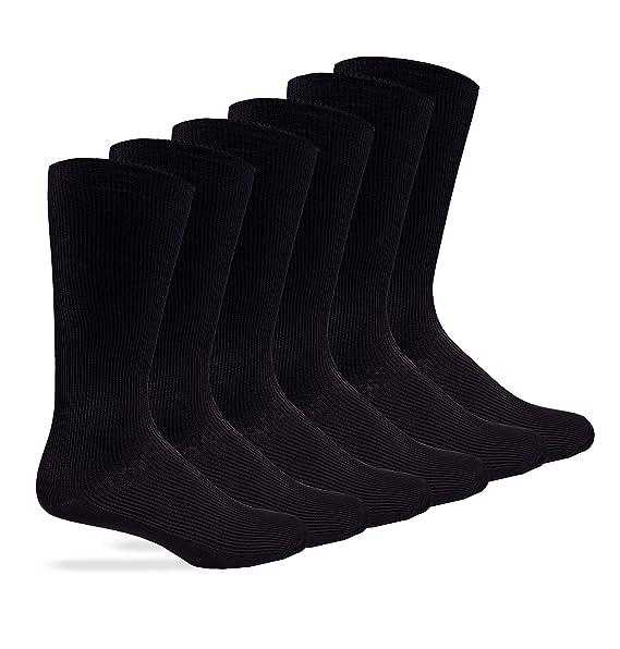 Amazon.com: Jefferies Calcetines para hombre calcetines mid ...