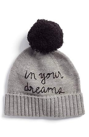 d123e5ca50d Amazon.com  Kate Spade in Your Dreams Pom Pom Beanie Hat
