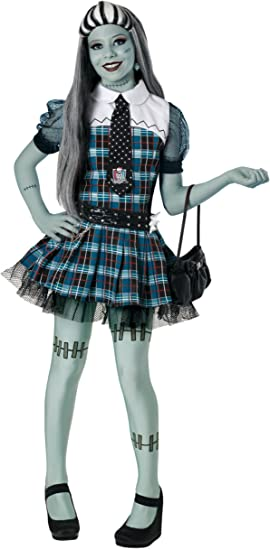 Monster High D686-005 - Disfraz Frankie Stein (8-10 años): Amazon ...