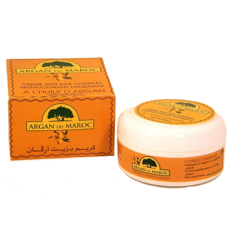 Argan Du Maroc Anti Ageing Argan Oil Cream For All Skin Types 100  # Maroc New Tv