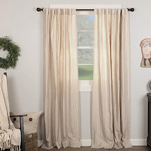 Katie's Vintage Stripe Panel Curtain