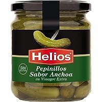Helios Pepinillos Sabor Anchoa - 345 gr