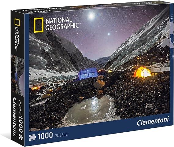 Clementoni - Puzzle de 1000 Piezas, diseño Everest (393107): Amazon.es: Juguetes y juegos