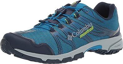 Columbia Mountain Masochist IV, Zapatillas de Trail Running para Hombre, Azul (Dark Compass, Bright Green), 40.5 EU: Amazon.es: Zapatos y complementos