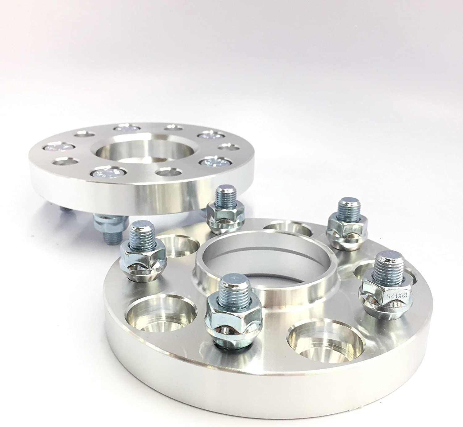 2X HUBCENTRIC Wheel SPACERS ADAPTERS 5X100 /¦ 12X1.25 /¦ 56.1 CB /¦ 22MM Subaru