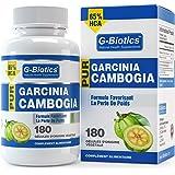G-Biotics Garcinia Cambogia Pur complément alimentaire favorisant la perte de poids HAUTE QUALITÉ – 65% en AHC – 180 gélules 100% d'origine végétale.