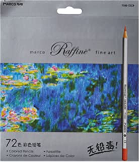 Marco Ade 72 Color Raffine Fine Art Colored Pencils Drawing For Sketch