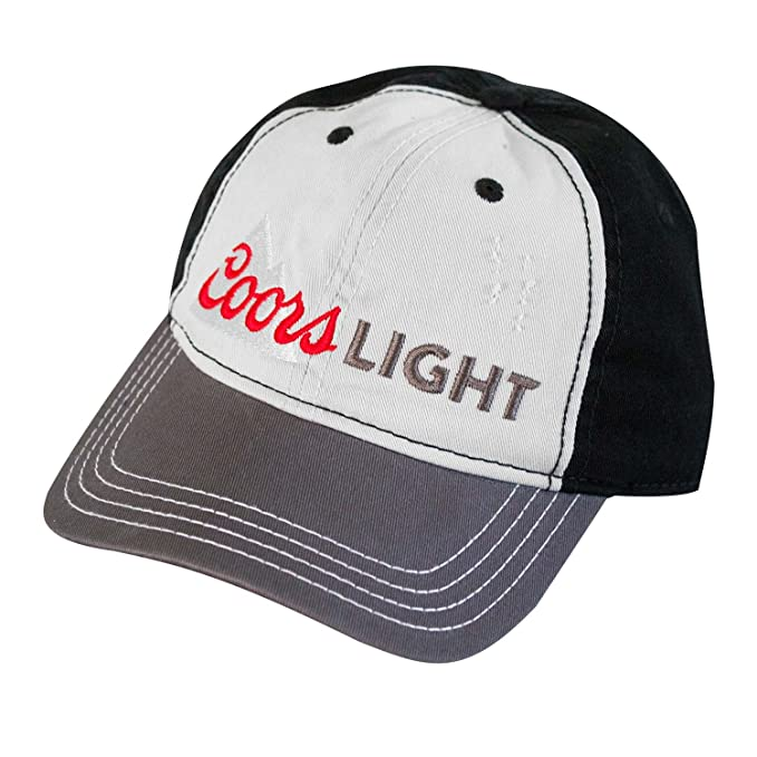 7829cb55fbdc6 Coors Light Mountain Logo Hat at Amazon Men s Clothing store