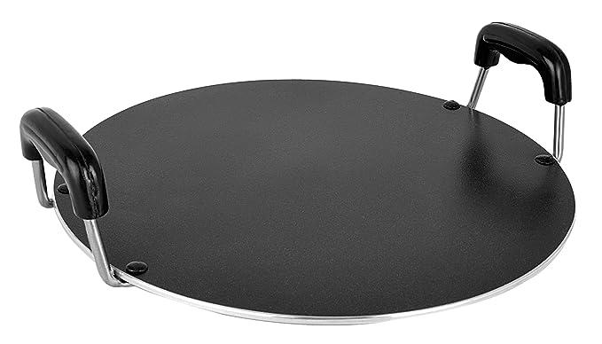 Nirlon Non-Stick Coated Mini Round Tawa, Black