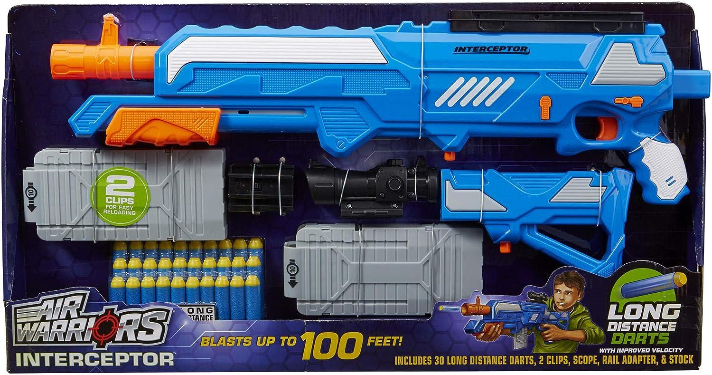 Air Warriors Buzz Bee Interceptor Sniper Foam Dart Blaster Blasters Foam Play Amazon Canada