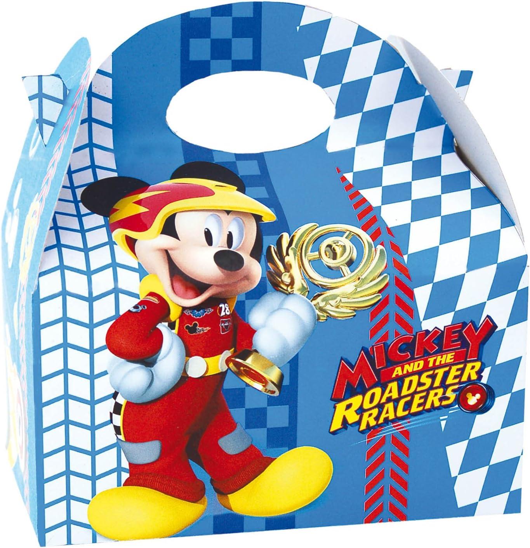 ALMACENESADAN 014001343, Pack 4 Cajas para chuches Mickey Mouse y ...