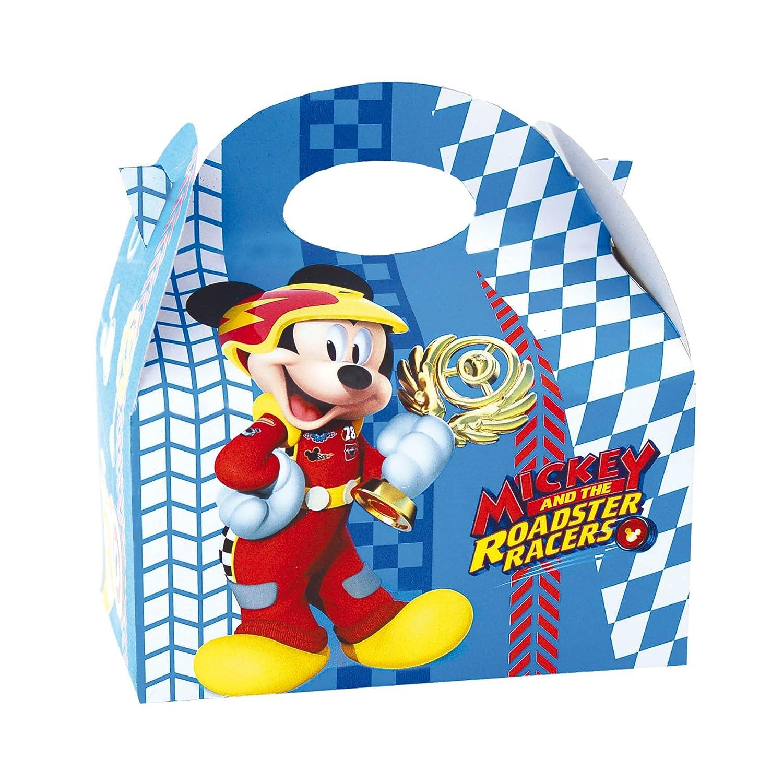 ALMACENESADAN 014001343, Pack 4 cajas para chuches Mickey Mouse y los Superpilotos.: Amazon.es: Juguetes y juegos