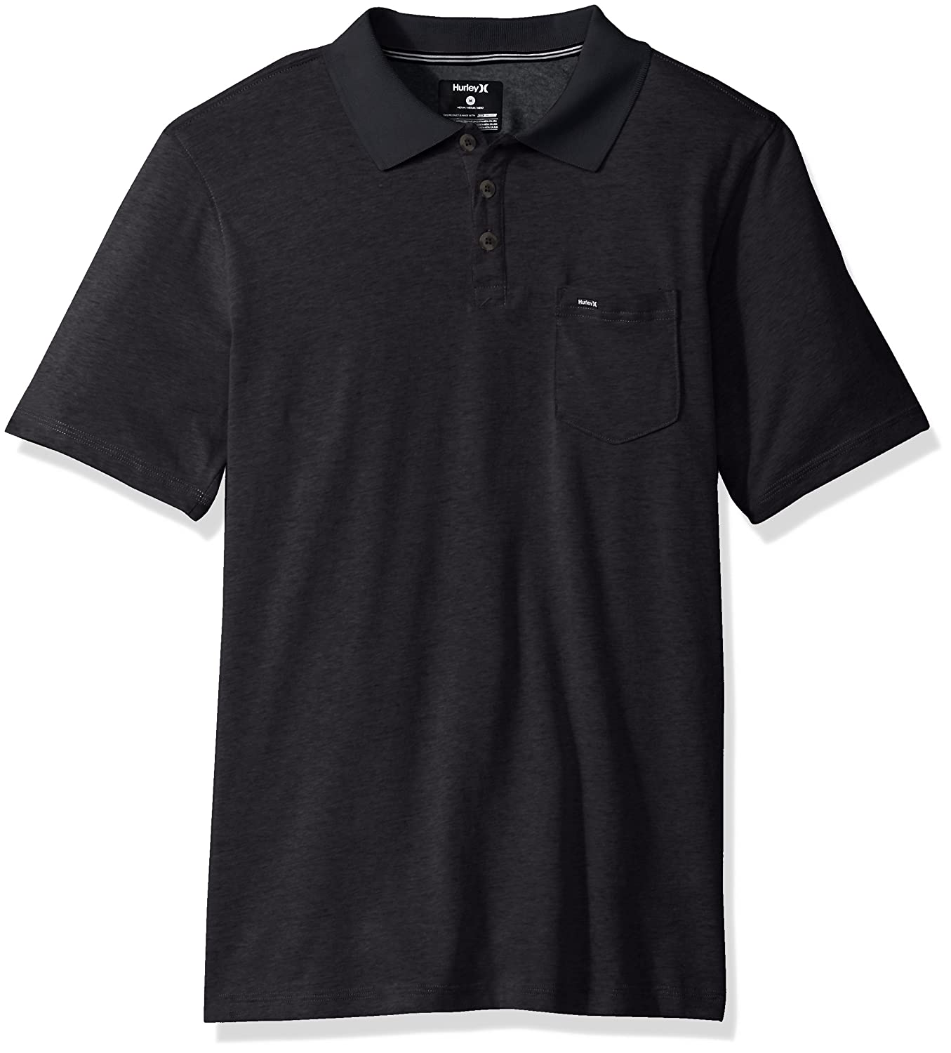8e9534503 Hurley and Nike dry-fit logo. Show more. Nike dri-fit fabric short sleeve  three button polo.