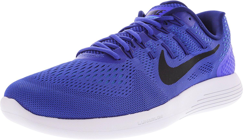 Nike Mens Lunarglide 8, Black / White - Anthracite B07457GTPK 10 D(M) US|Racer Blue/Black