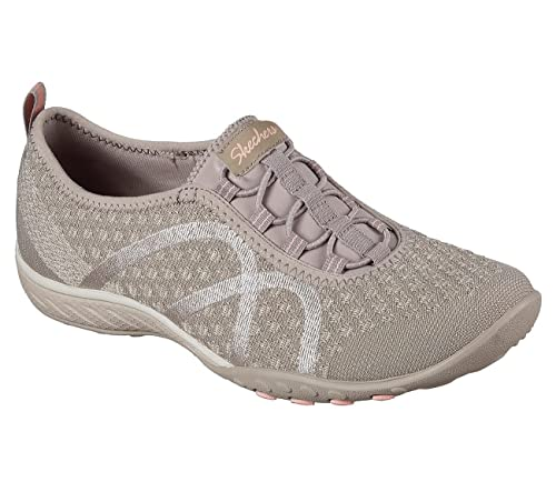 f161f4912932 Skechers Women s Relaxed Fit  Breathe Easy - Fortune-Knit Memory Foam Air  Cooled Sneakers