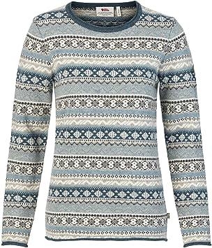 Fjällräven Damen Övik Folk Knit Sweater W Wollpullover  Amazon.de ... c1364a693b