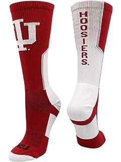 TCK Indiana Hoosiers Socks Victory Crew