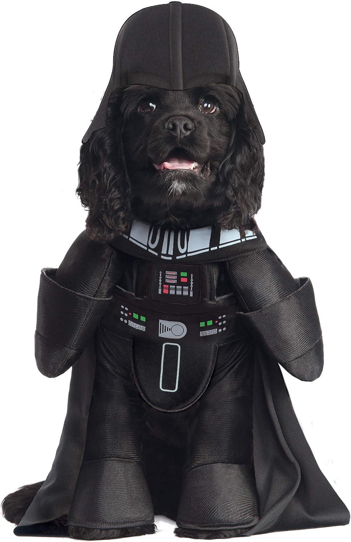 Star Wars - Disfraz de Darth Vader Deluxe para mascota, Talla L ...