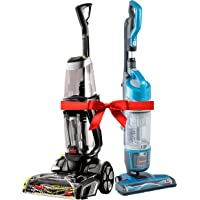 Special Bundle: Bissell Proheat 2X Revolution Cleanshot Corded Upright Vacuum Cleaner, 2066E + Bissell Powerglide Upright Vacuum,1538A