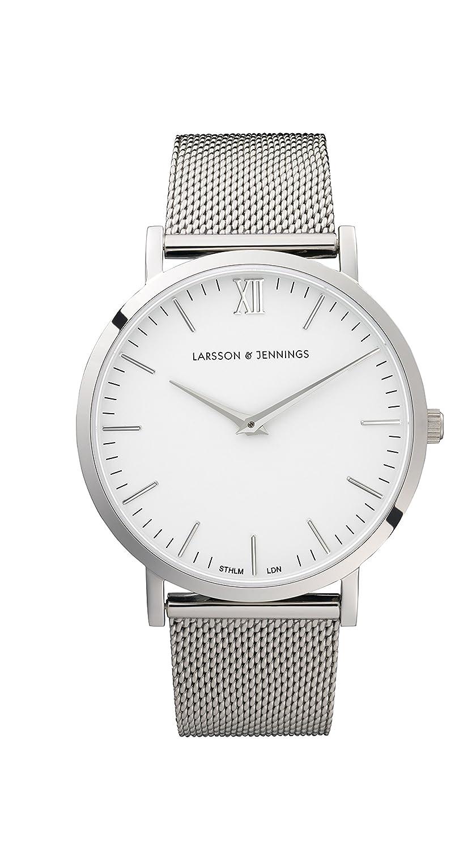 Larsson & Jennings Unisex-Armbanduhr LJ-W-CMSLV-O-SW