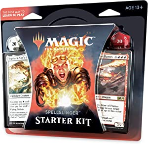 Magic: The Gathering Spellslinger Starter Kit Core Set 2020 (M20) | 2 Starter Decks | 2 Dice | 2 Learn to Play Guides
