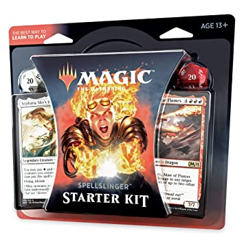 Magic: The Gathering Spellslinger Starter Kit Core Set 2020 (M20)   2  Starter Decks   2 Dice   2 Learn to Play Guides