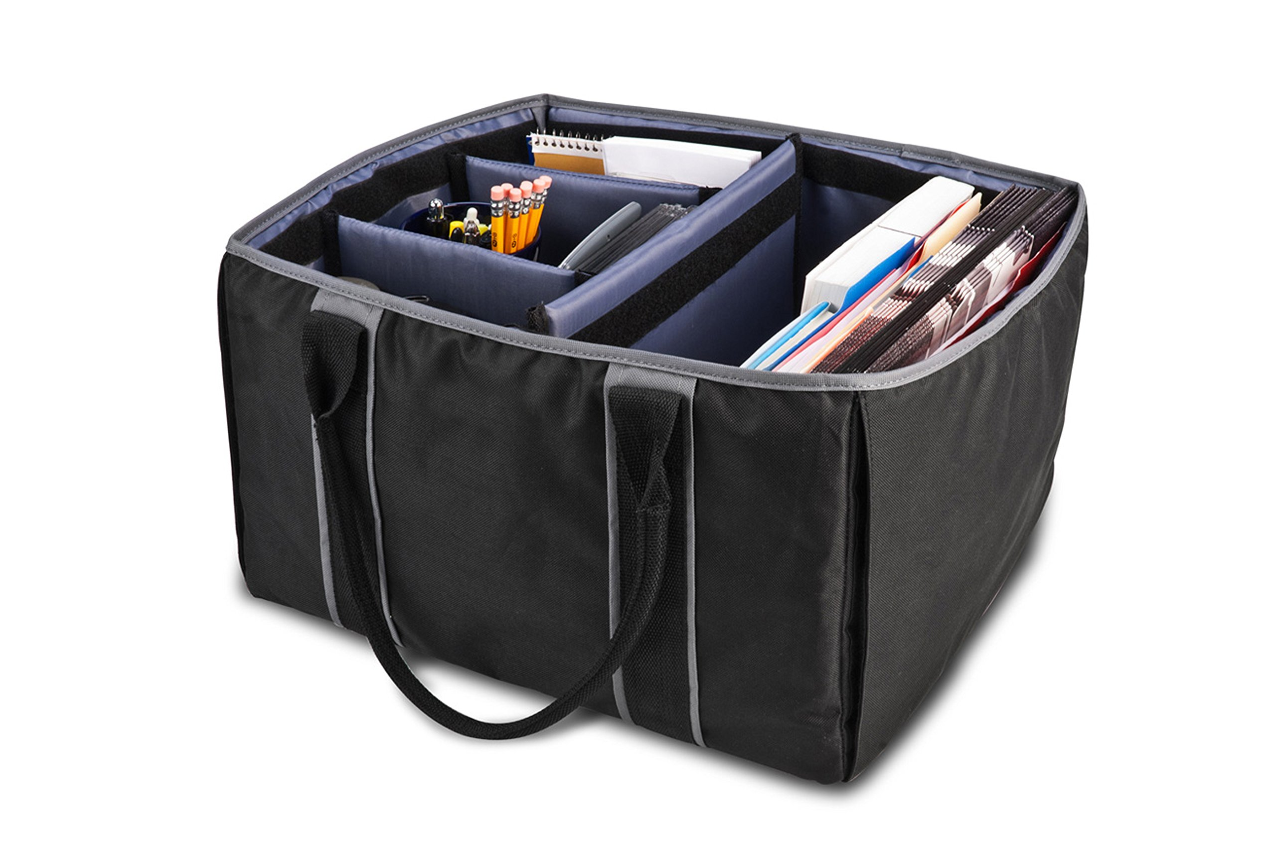 AutoExec AETote-09 Black/Grey File Tote with One Cooler and One Tablet Case by AutoExec (Image #11)