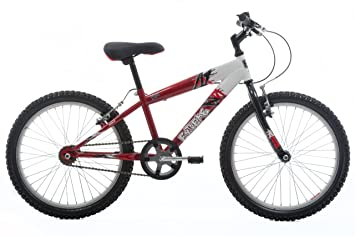 aaaec00b7f8 EXTREME by Raleigh Volt Boys Boys Mountain Bike - Red