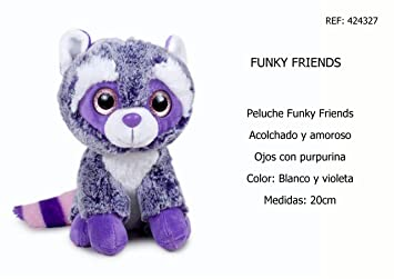 Famosa 12432 Peluches Funky Friends Surtidos 20 CM