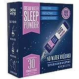 Dream Water Sleep Powder, Natural Sleep Aid, GABA, Melatonin, 5-HTP, Snoozeberry, 30 Count, Top Rated