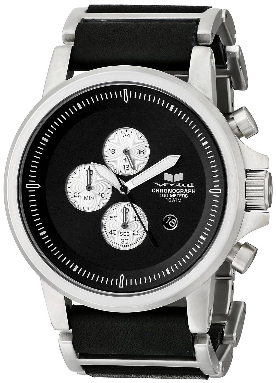 Vestal PLE036 - Reloj de Pulsera Hombre, Color Negro: Vestal: Amazon.es: Relojes