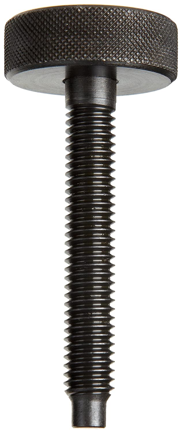 3//8-16 UNC Threads Steel Thumb Screw Partially Threaded Made in US Dog Point 3-1//16 Length Pack of 2 Black Oxide Finish