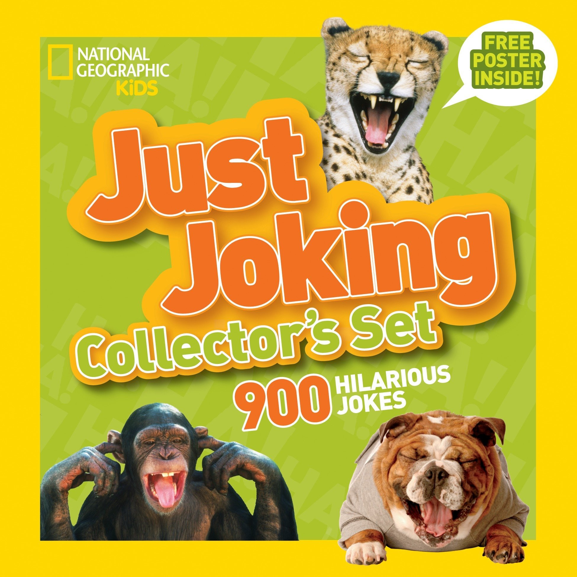 National Geographic Kids Just Joking Collector's Set (Boxed Set): 900 Hilarious  Jokes About Everything: National Geographic Kids: 9781426316142:  Amazon.com: ...