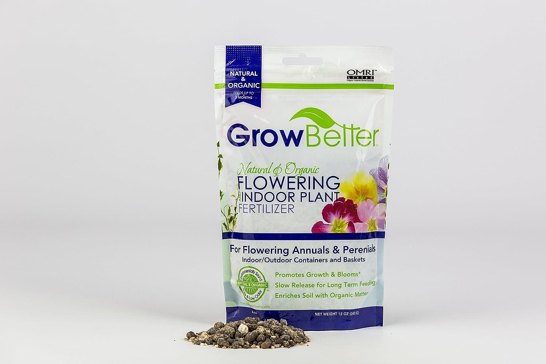 Natural & Organic Flowering and Indoor Plant Fertilizer
