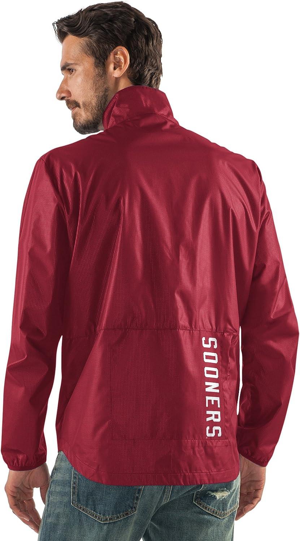 G-III Sports NCAA Mens Storm Full Zip Packable Jacket