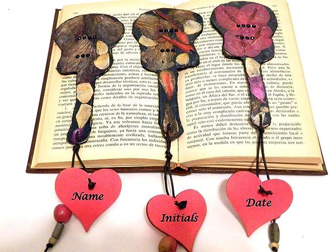 amazon com custom bookmarks gift wedding book mark unique