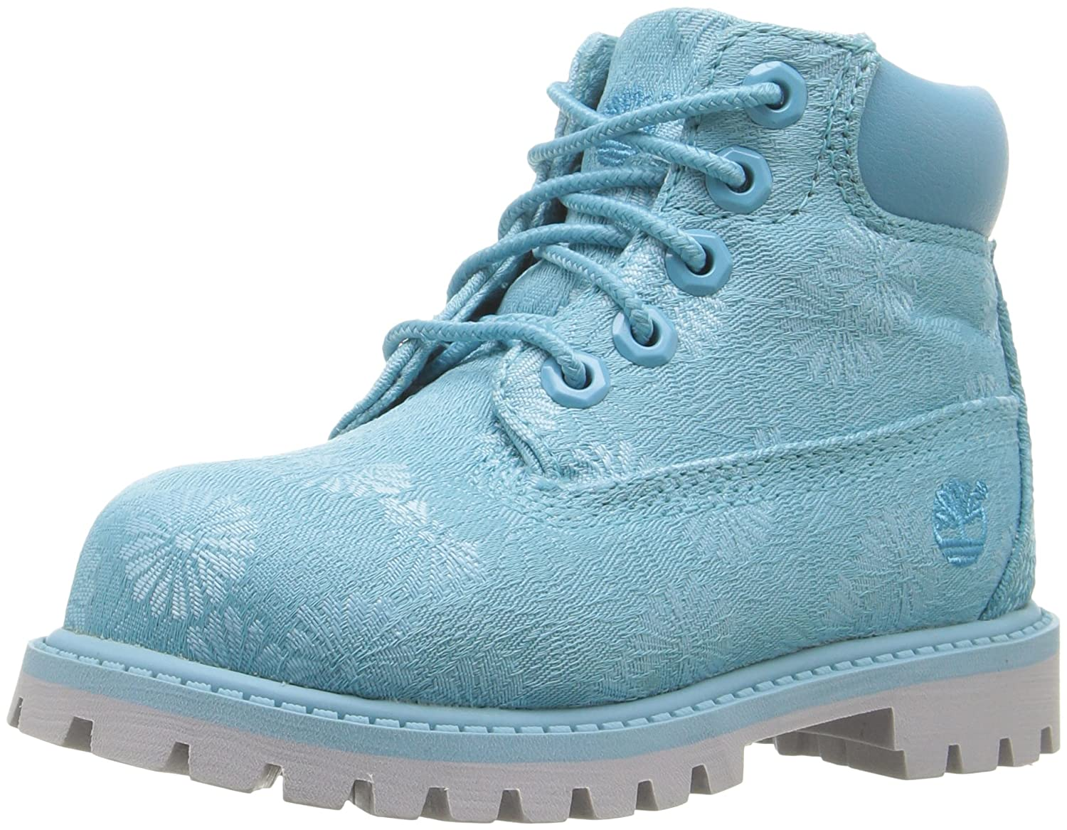 Timberland Kids Girl's 6 in Premium Waterproof Fabric Boot (Toddler/Little Kid) TB0A175VA35-420