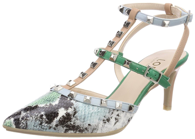 lodi Elena-gosr, Zapatos con Tacon y Correa de Tobillo para Mujer