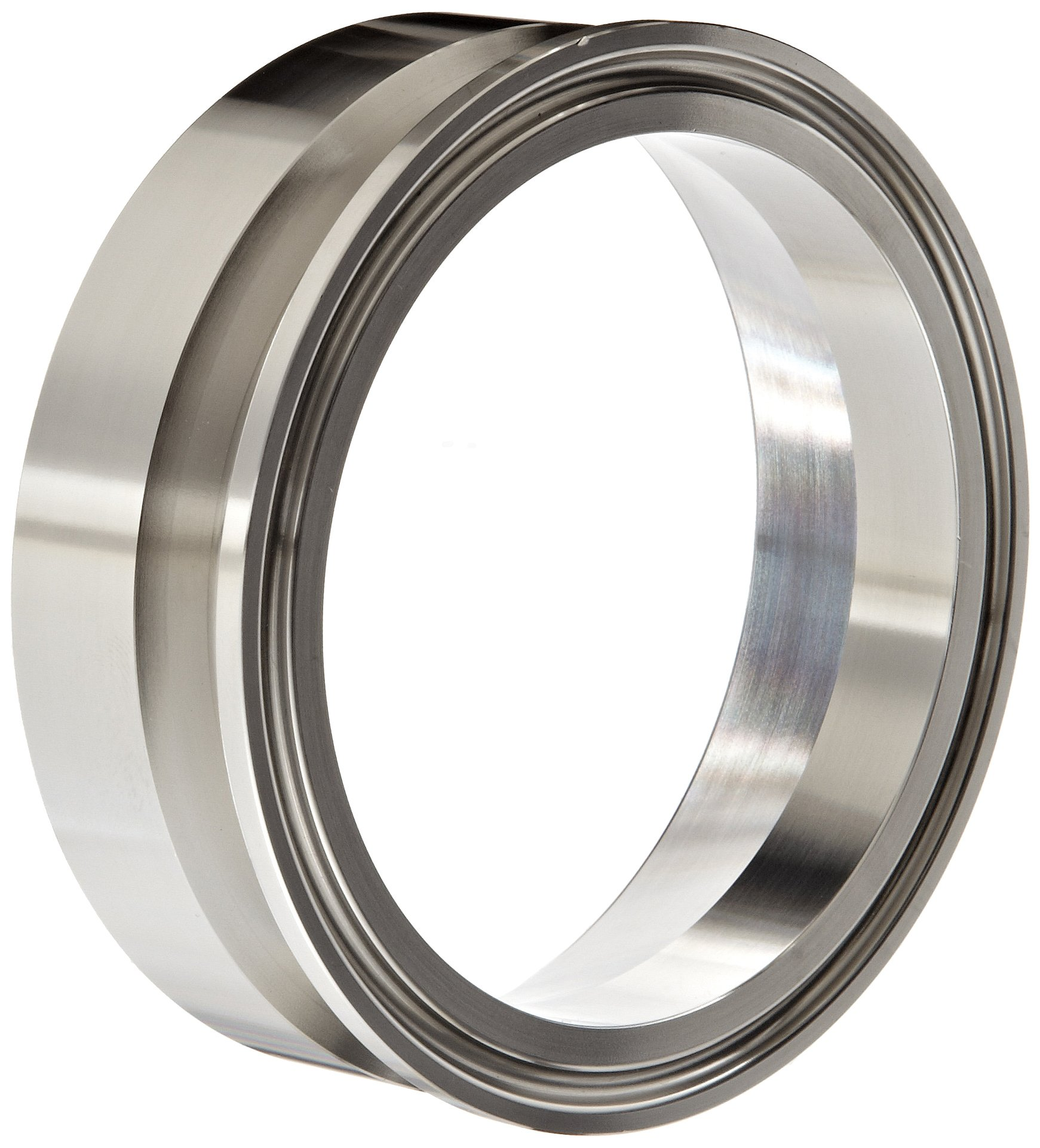 Dixon B19MPX-R300 Stainless Steel 316L Sanitary Fitting, Clamp x Schedule 10 Weld Adapter, 3'' Pipe Size